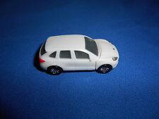 WHITE Mini PORSCHE CAYENNE FIRST GENERATION Plastic Kinder Surprise CAR Vehicle