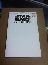 Star Wars:Shattered Empire #1 blank sketch variant.First printing.