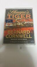 Sharpes Tiger Bernard Cornwell Audio Book Cassette Read By Sean Bean