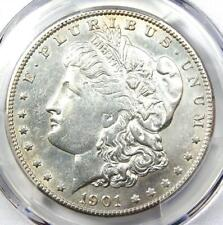 1901-S Morgan Silver Dollar $1 Coin - Certified PCGS AU Details - Rare Date!