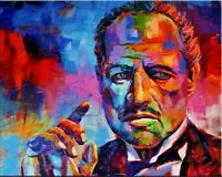 CHOP353 100% hand-painted modern decor art Godfather oil painting art on canvas