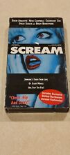 Scream Vhs Blue Cover Drew Barrymore Horror Wes Craven Exclusive Video Rare Used