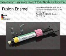 E3 Enamel, Light Curing Dental Nano Reinforced Anterior Composite Restorative 4g