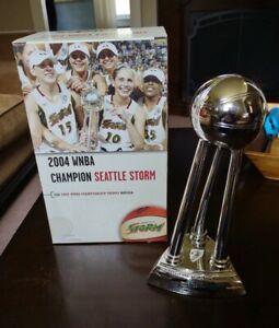 SUE BIRD  LAUREN JACKSON 2004 SEATTLE STORM WNBA CHAMPIONSHIP REPLICA TROPHY