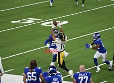 CHASE CLAYPOOL PITTSBURGH STEELERS FIRST CATCH VS GIANTS 9/14/20 COLOR 8X10