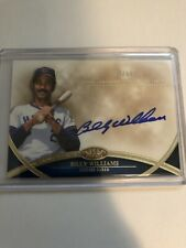 2012 Topps Tier One Billy Williams Auto 50/50 Cubs