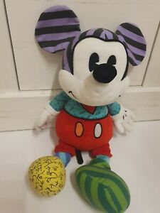 Mickey Micky Maus Mouse Plüsch Stofftier Britto for enesco