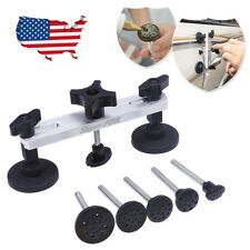 US Stock PDR Paintless Dent Removal Puller Bridge Car Dent Repair Kits PDR Tools
