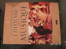 ** Les chefs d'oeuvre de l'histoire la musique n°5 Luth / Byrd / Palestrina
