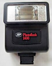 BOOTS PHOTOFLASH 1400 ELECTRONIC FLASHGUN Hot Shoe or Cable Fitting Working