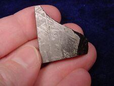 (x-43) 21 g Africa meteorite rock mineral slice fragment Gibeon African specimen