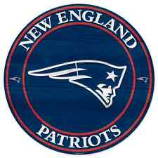 """NEW ENGLAND PATRIOTS WOOD SIGN 20""""X20'' BRAND NEW FREE SHIPPING WINCRAFT"""