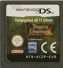 NINTENDO DS PIRATES CARIBBEAN DEAD MAN'S CHEST GAME CARTRIDGE ONLY