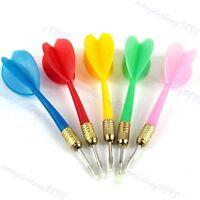 15 PCs Steel Tip Needle Dart Darts Plastic Wing Darts Throwing Tip Toy