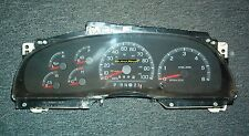 Ford F150 F250 Pickup Expedition Gas Instrument Cluster Speedometer Tach 97 98