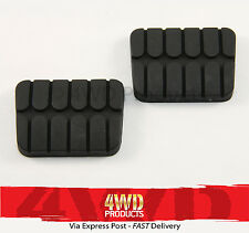 Brake/Clutch Pedal Pad SET - for Nissan Navara D21 D22 (86-06)