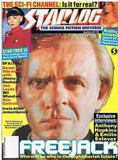 Starlog No.176 / 1992 Anthony Hopkins / Irwin Allen