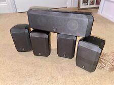 Yamaha NS-AP2600S & NS-AP2600C Surround Sound Stereo 5 Piece Speaker System