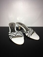 Style&Co White And Silver Sandals