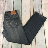 Vintage LEVI'S 505 Regular Straight Fit Men's Blue Jeans W31 L30