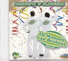 De Mannen Van Brabant-Confetti &Slingers cd single