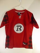 Reebok Ottawa Redblacks CFL Football YOUTH Jersey size M,NEW,uniform,red kids