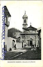 Roccaforte Mondovì, Cuneo - Chiesa di San Maurizio - Viaggiata 1910 - R001