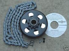 "Minibike Parts Go Kart Go Cart 3/4"" Bore Clutch & 5 Ft. Chain #41"
