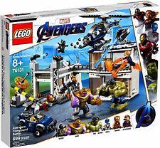 LEGO Marvel Avengers Compound Battle 76131 Building Set - New (699 Pieces)