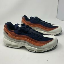 Nike Air Max 95 Essential  White/Orange/Black 749766-108 NO BOX TOP SZ 11
