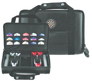 XL DARTS CARRY CASE - HOLDS 2 SETS OF DARTS + LOTS OF ACCESSORIES