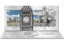 Pure Silver note Brand New Big Ben Silver Bank Note pure silver legal tender COA