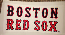 """New Boston Red Sox FATHEAD Official MLB Team Sign 9.5"""" 4.5"""" Wall Graphics Vinyl"""