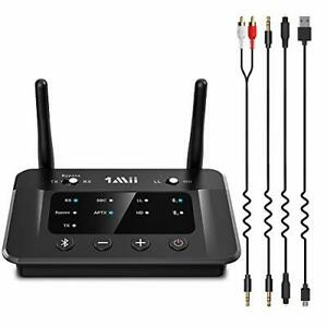 1Mii B03 Bluetooth 5.0 Transmitter Receiver For TV, Low Latency Wireless Audio