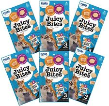 Inaba Ciao Juicy Bites Scallop and Crab Flavor 6 Pack Bundle