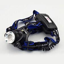 CREE R2 LED Headlamp Headlight Flashlight head light lamp 18650 CUBE