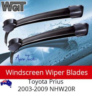 Windscreen Wiper Blades For Toyota Prius NHW20R 2003 - 2009 For Aero Design (PAI