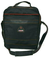 Samsonite Carry On Toiletry Case Travel Bag Shoulder Luggage Bag Black Rare VTG