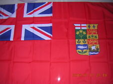 100% NEW British Empire Flag Canada Red Ensign 1868-1921 3X5ft GB UK EIIR QEII