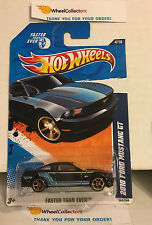 2010 Ford Mustang GT #144 * BLUE Kmart Only * 2011 Hot Wheels * L3