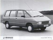 Renault Espace 2000 GTS original b/w Press Photograph Pub. No. 86