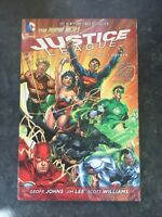 Justice League Vol. 1 Origin (The N by Geoff Johns New Paperback / softback Book