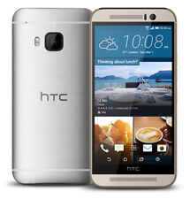 HTC One M9 - 32GB - Gold on Silver Smartphone
