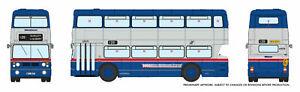 Rapido 901017 West Midlands Fleetline #6940 WMT Blue/Silver 449 Brandhall Via Sp