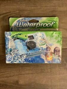 1 FujiFilm Quicksnap Waterproof OneTime Use 35MM Camera 27 Exposures Exp 01/2021