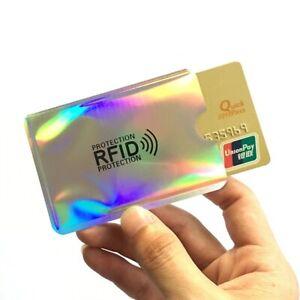 Anti RFID Card Holder 5 Pcs Smart NFC Blocking Cover