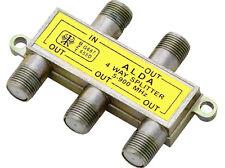 Satvt 04 4 volte di distribuzione SAT SPLITTER 5-900mhz Cavo digitale TV DVB-T HDTV VHF