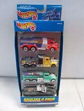 Hot Wheels Haulers  4 Pack El Woods, Handy Cams, Hasse Racing and Jody's