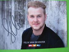 Autogrammkarte - Felix van Deventer - GZSZ - orig. autogr.