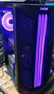Gaming Rig i7 4790, Aerocool RGB, 32G RAM STRIX GTX1070 8G 500G SSD, Warzone Rdy